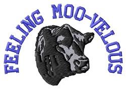 Feeling Moo-velous embroidery design