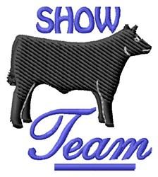 Show Team embroidery design