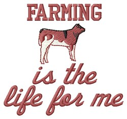 Farming For Me embroidery design