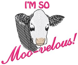 So Moo-velous embroidery design