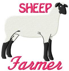 Sheep Farmer embroidery design