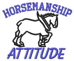 Horsemansip embroidery design