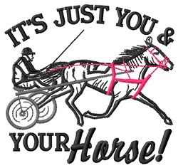 Just You embroidery design