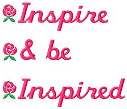 Inspire embroidery design