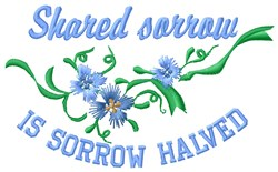 Shared Sorrow embroidery design