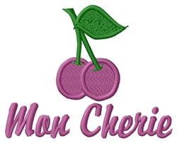 Mon Cherie embroidery design