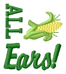 All Ears embroidery design