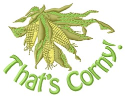 Thats Corny embroidery design