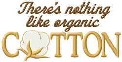 Organic Cotton embroidery design