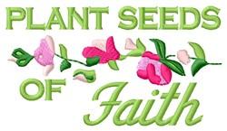 Plant Faith embroidery design