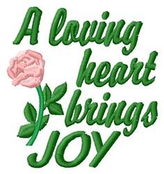 Brings Joy embroidery design