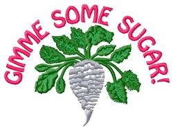 Gimme Sugar embroidery design