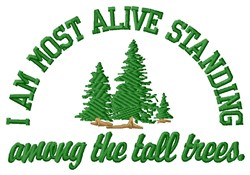 Most Alive embroidery design