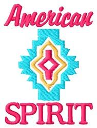 American Spirit embroidery design