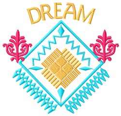 Dream embroidery design