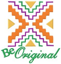 Be Original embroidery design