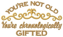 Youre Gifted embroidery design