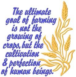 Farming Goal embroidery design