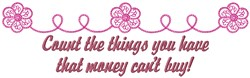 Count Things embroidery design
