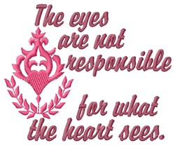 The Eyes embroidery design