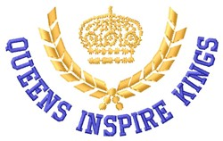 Inspire Kings embroidery design