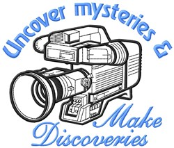 Uncover Mysteries embroidery design