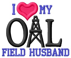 Oil Field Husband embroidery design