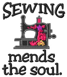 Mends Soul embroidery design