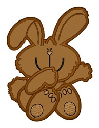 Cute Bunny embroidery design