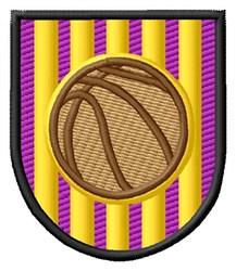 Basketball Logo embroidery design