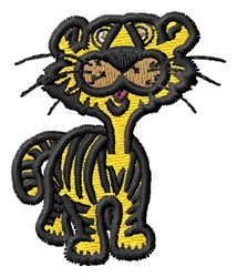 Baby Tiger embroidery design