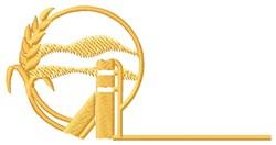 Farm Logo embroidery design