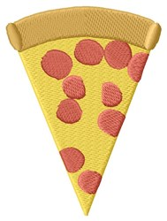 Pizza embroidery design