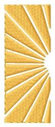 Sun Logo embroidery design