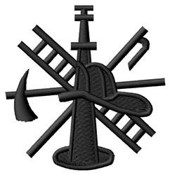 Fire Logo embroidery design