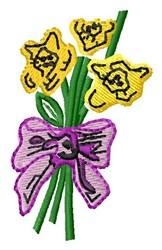 Jonquils embroidery design