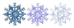 Snowflake Border embroidery design