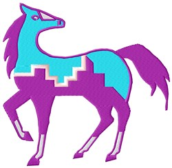 Southwest Pony embroidery design