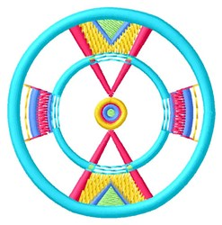 Southwest Circle embroidery design