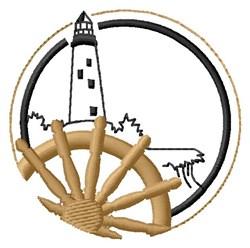 Lighthouse Scene embroidery design