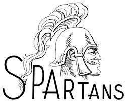 Spartans Logo embroidery design