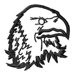 Eagle Outline embroidery design