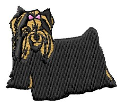 Yorkshire Terrier embroidery design
