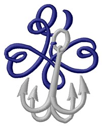 Grapple Hook embroidery design