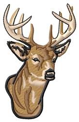 Buck Head embroidery design