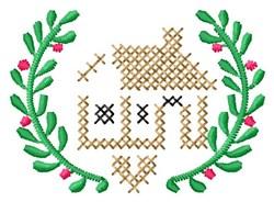 Cross Stitch Home embroidery design