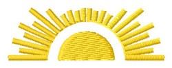 Sunshine Scene embroidery design