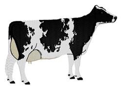 Milk Cow embroidery design
