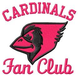 Cardinals Fan Club embroidery design