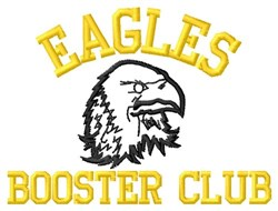 Eagles Booster Club embroidery design